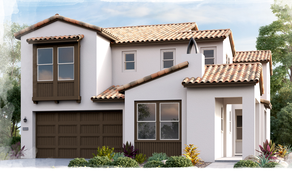 Castellena Plan 2A Spanish Home Options